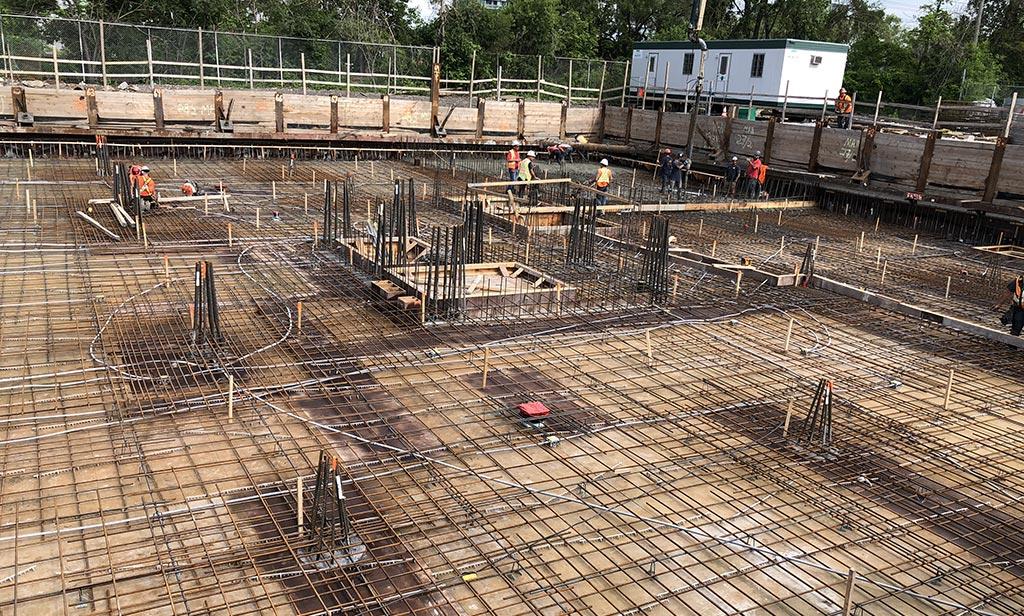 Avancement de la construction - 29 juin 2018