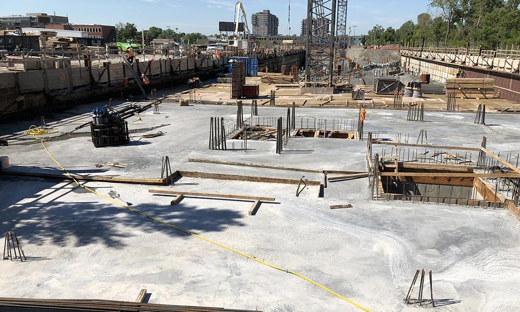 Avancement de la construction - 3 juillet 2018