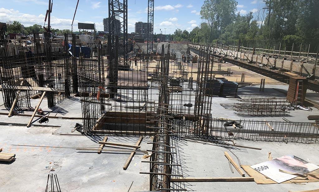 Avancement de la construction - 6 juillet 2018