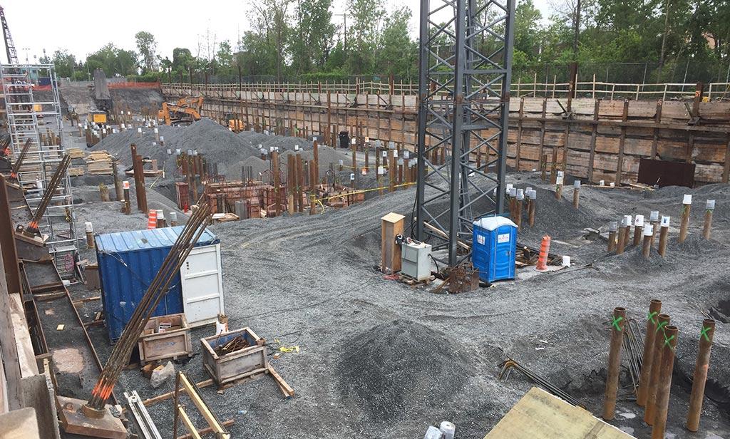 Avancement de la construction -  6 juin 2018