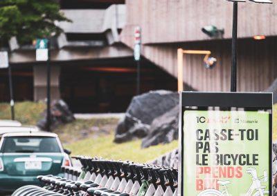 Vélos BIXI situé près de Westbury Montréal