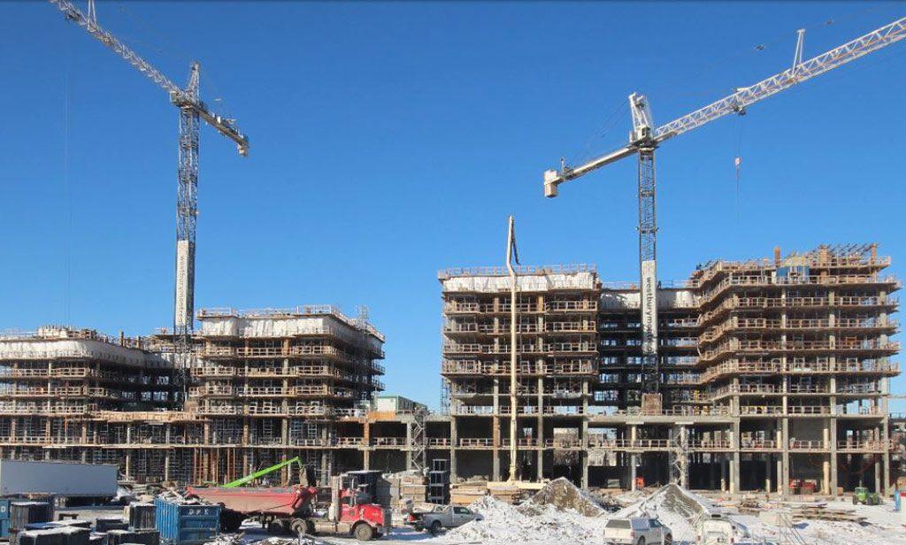 Avancement de la construction - 13 décembre 2018