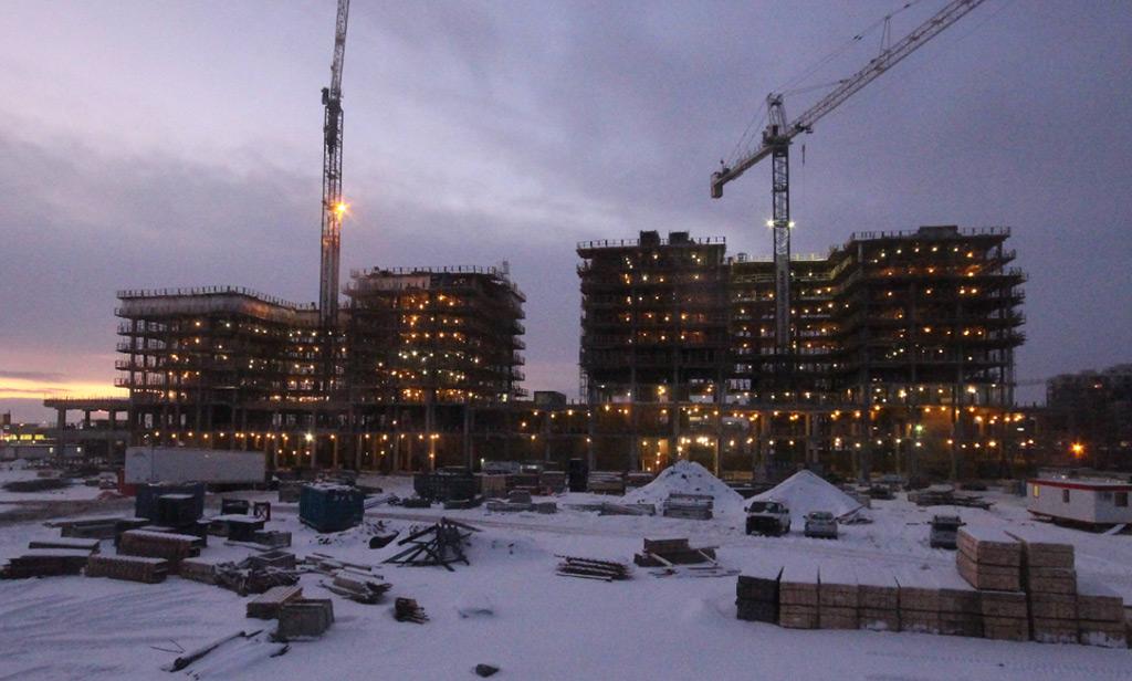 Westbury Montréal - Avancement de la construction 10 janvier