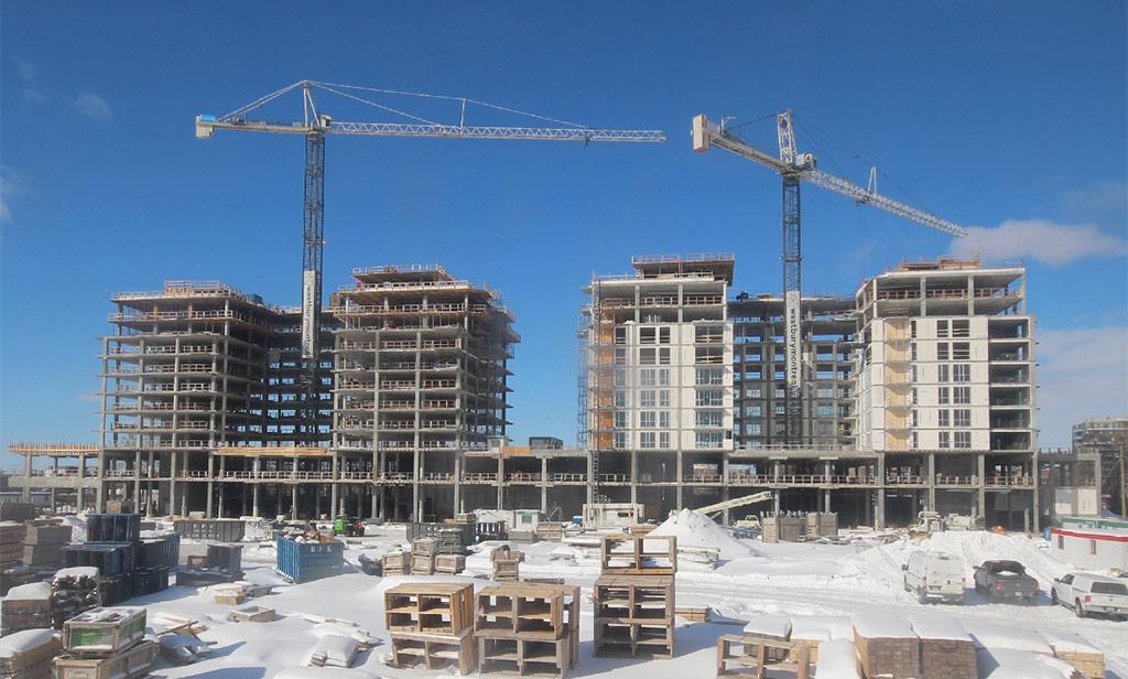 Avancement de la construction 14 février 2019