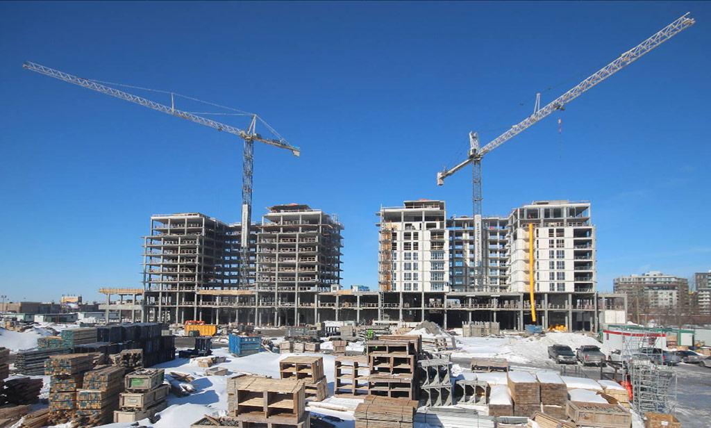 Avancement de la construction 19 février 2019