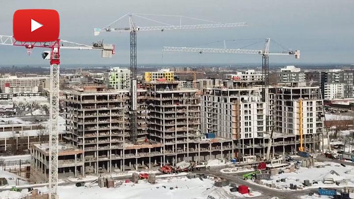 Avancement construction, février 2019