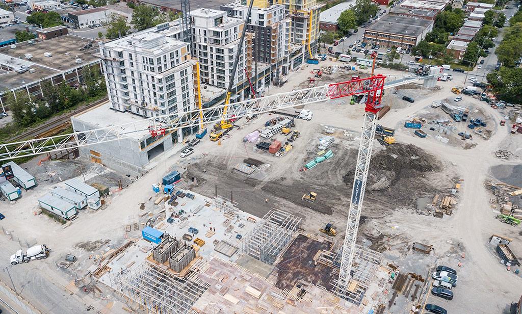 Avancement de la construction en date du 19 juin 2019