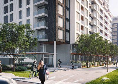 Vue du projet Westbury Montréal