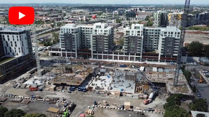 Construction Westbury Montréal Phase 3 et 4