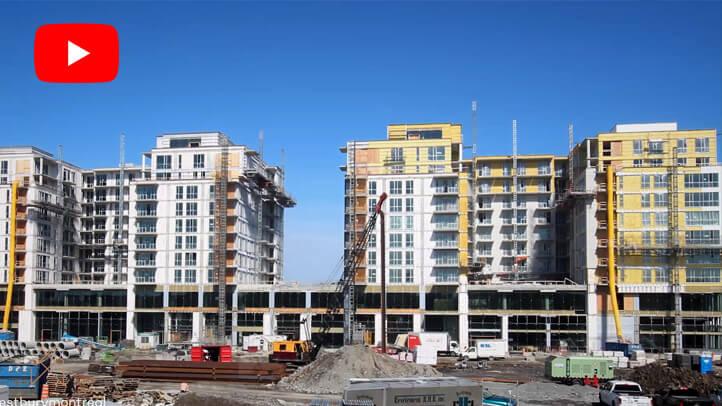 La création d'un tout nouveau quartier | The creation of a brand new neighbourhood