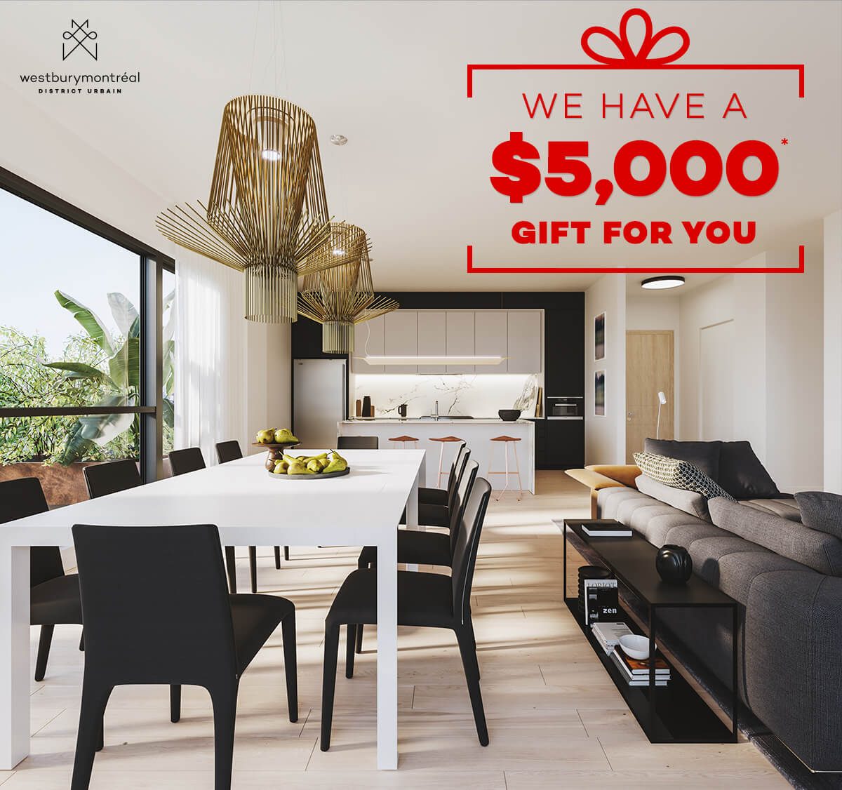 We have a $5,000 gift for you