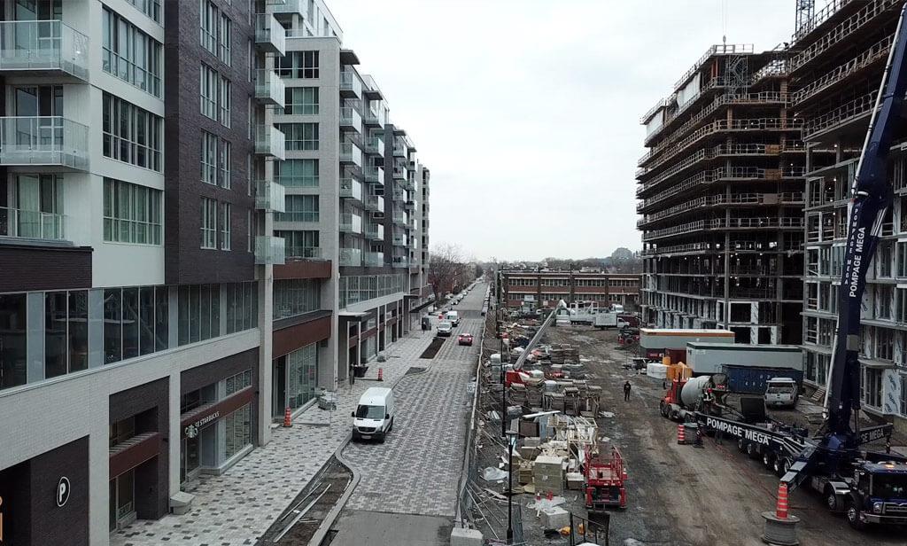 Avancement de la construction, décembre 2020